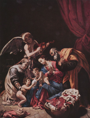 Орацио Борджианни. Святое семейство