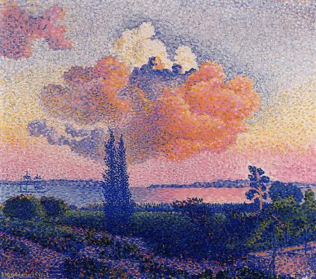 Henri Edmond Cross. Pink clouds