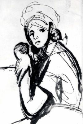 Джордж Ромни. Портрет молодой женщины