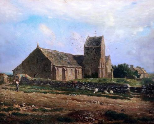 Jean-François Millet. Church of Greville