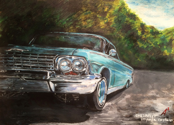 Anastasia Andreevna Ashunina. Chevrolet impala