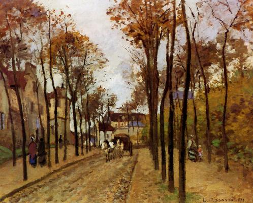 Camille Pissarro. Boulevard des Fosses, PONTOISE