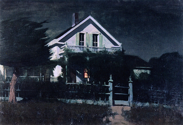 Charles Rollo Peters. The home and Studio of the Peters, Monterey