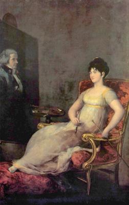 Francisco Goya. The Marquise of Villafranca