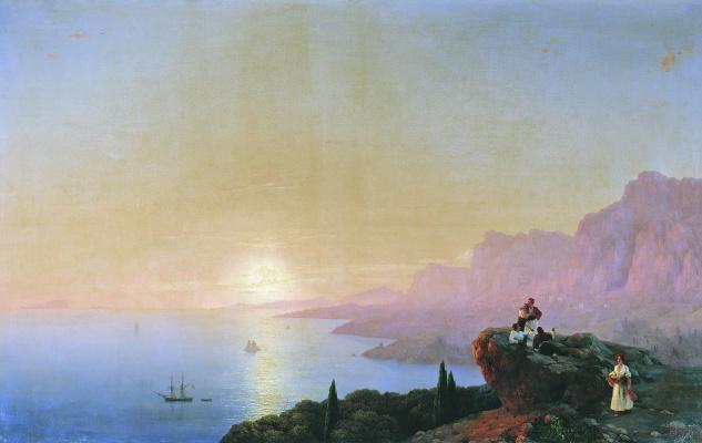 Ivan Aivazovsky. Bay