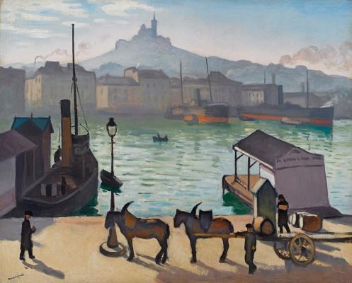 Albert Marquet. Marseille. The old port
