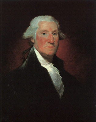 Гилберт Чарльз Стюарт. Джордж Вашингтон4