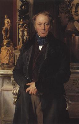 Paul Delaroche. Portrait of count