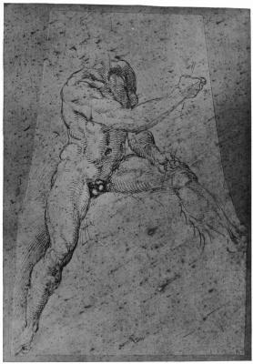 Raphael Sanzio. Sketch Nude