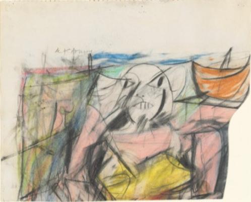 Willem de Kuning. The Woman I