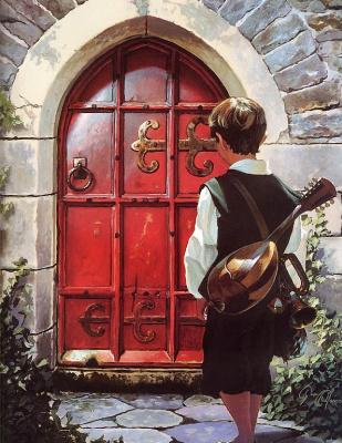 Дин Моррисси. Дверь