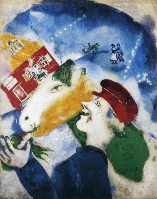 Marc Chagall. Peasant life