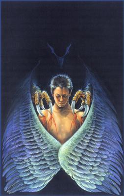 Иаиль. Большие белые крылья