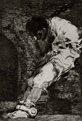 Francisco Goya. Prisoner