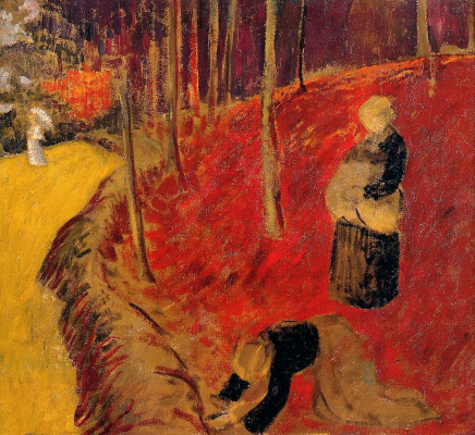 Paul Sérusier. Harvest at Pont-Aven