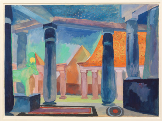 Robert Delaunay. Stage Design for Cleopatra
