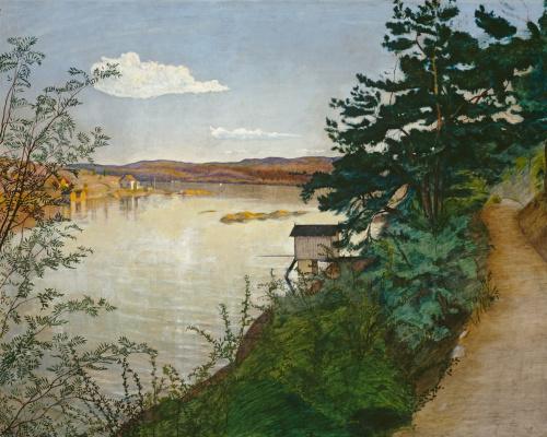 Harald Oskar Sohlberg. Afternoon sun