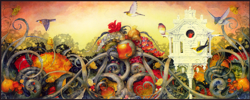 Daniel merriam. The garden of earthly delights