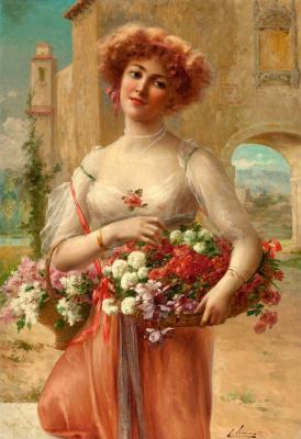 Emile Vernon. Aux Roses. 1908