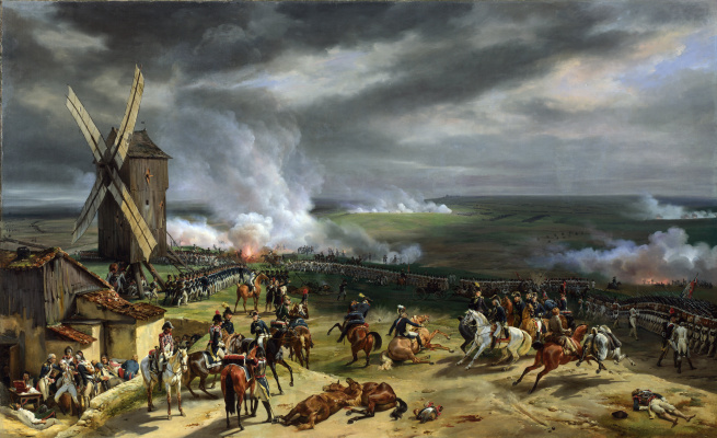 Эмиль Жан Орас Верне. Битва при Вальми