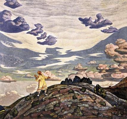 Николай Константинович Рерих. Знамение