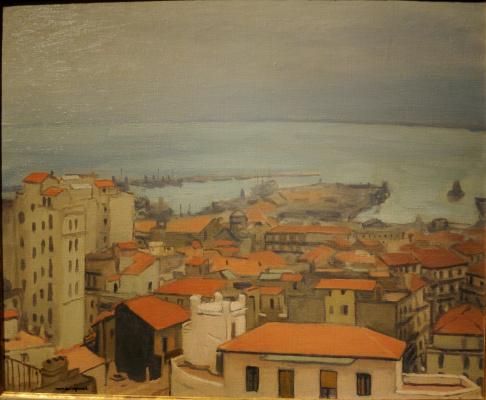 Albert Marquet. Algeria, a Mustafa. Rain.