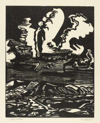 Erich Heckel. Big cloud