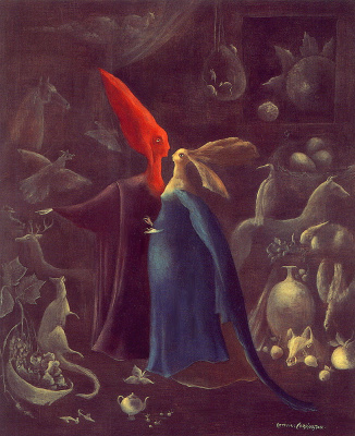 Leonora Carrington. Cleaning a hundred times
