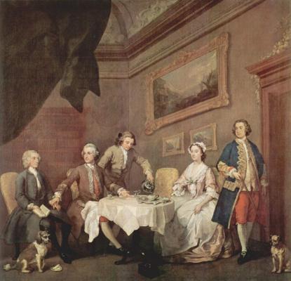 William Hogarth. The Family Of Strode