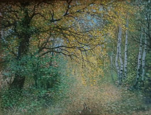 Nikolay Stepanovich Makushkin. Gold of autumn
