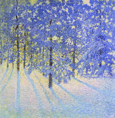 Igor Grabar. Winter morning