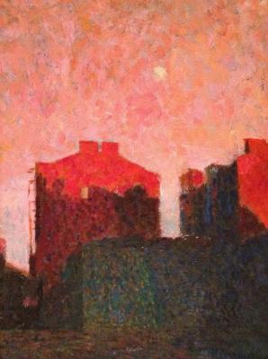 Alexander Ibragimov. Petrograd. Evening.