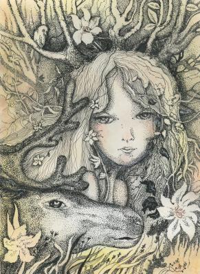 Olyona Ivanovna Koneva. Forest Princess