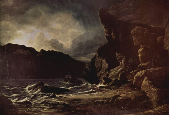 Фрэнсис Дэнби. Озеро Линсфьорд в Норвегии