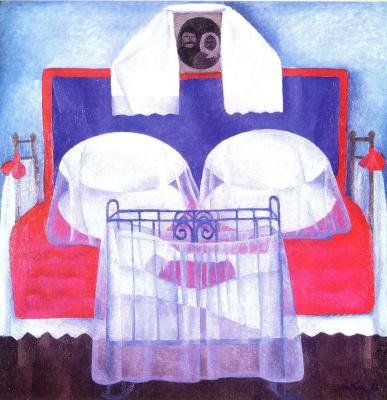 Tetyana Yablonska. The cradle