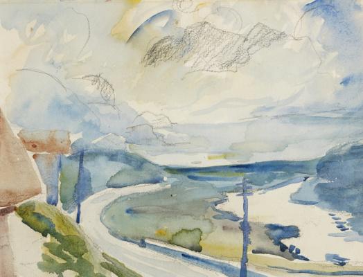 Giovanni Giacometti. Morning in Maloja