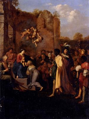 Корнелис ван Пуленбург. Поклонение волхвов