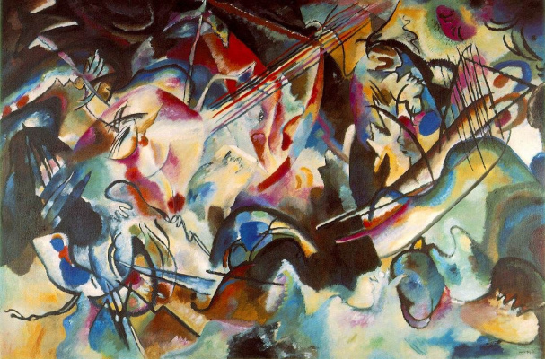 Wassily Kandinsky. Composition 6