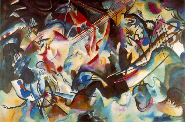 Wassily Kandinsky. Composition 6