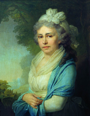 Vladimir Lukich Borovikovsky. Portrait of E. I. Neklyudova. 1798