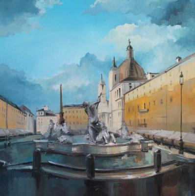 Alessia Lisenko. Navona Square Rome