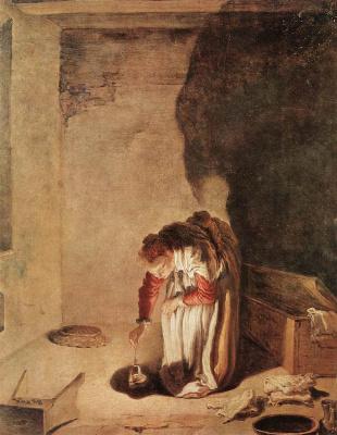 Доменико Фетти. Притча о потерянной драхме