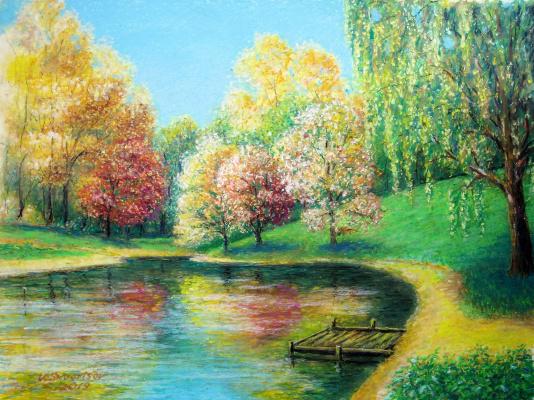 Vladimir Skvortsov. Autumn Park