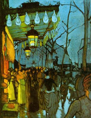 Louis Anketen. The Avenue de Clichy