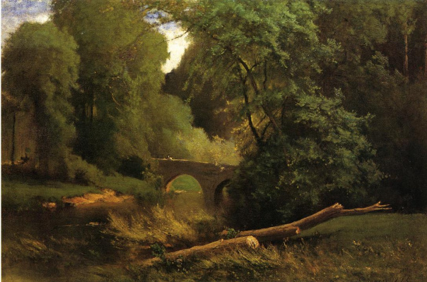 George Innes. The Cromwell's Bridge