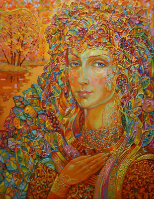 Vladimir Ivanovich Konev. Golden Autumn