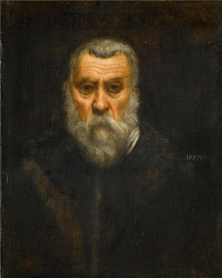 Jacopo (Robusti) Tintoretto. Self-portrait