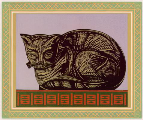 Стивен Алкорн. Кот