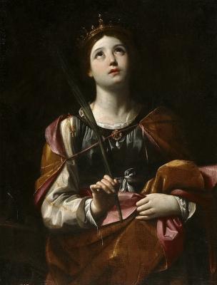 Guido Reni. Santa Catalina