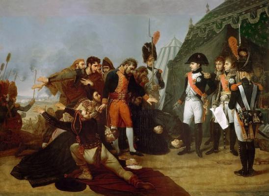 Антуан-Жан Гро. Капитуляция Мадрида 4 декабря 1808 года